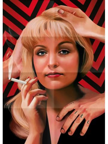Affiche Twin Peaks - Laura...
