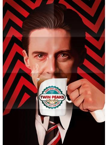 Affiche Twin Peaks - Dale...